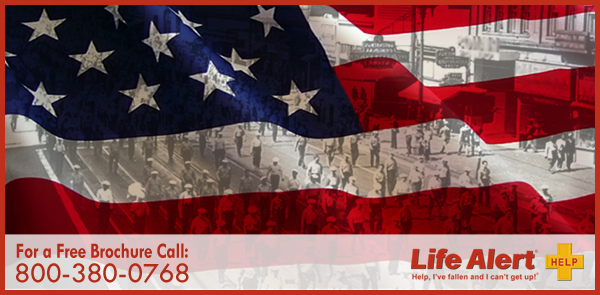 This Labor Day go on strike against unsafe living conditions by getting Life Alert Protection.